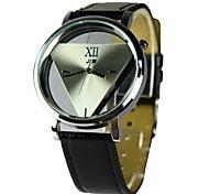 Мужская одежда часы кварцевые аналоговые полый гравировка (разных цветов)