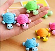 Недорогие -специальная модельная черепаховая ластик (случайный цвет) для школы / офиса