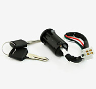 cheap -4 Wire Ignition Key Switch Lock For Moped Scooter Quad ATV Pit Dirt Bike