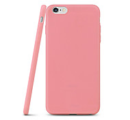 For iPhone X iPhone 8 iPhone 7 iPhone 7 Plus iPhone 6 iPhone 6 Plus Case Cover Ultra-thin Back Cover Case Solid Color Soft TPU for Apple