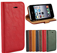 cheap -Case For iPhone 4/4S Apple iPhone 8 iPhone 8 Plus Full Body Cases Hard Genuine Leather for iPhone 8 Plus iPhone 8 iPhone 4s/4