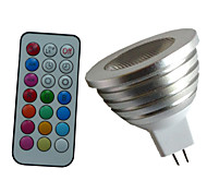 cheap -4W 350-450 lm GU5.3(MR16) LED Spotlight MR16 1PCS leds High Power LED Dimmable Decorative Remote-Controlled RGB AC 12V DC 12V