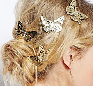 cheap -Women's Alloy Hair Clip Flower