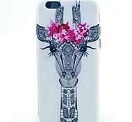 жираф рисунок ТПУ материал телефон случае для iPhone 5с