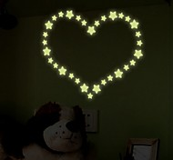 die Sterne in der Nacht vom Kinderzimmer dekorieren Fluoreszenzstock
