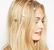 cheap -Women's Bohemian / Fashion / Sweet Alloy Hair Clip - Solid Colored