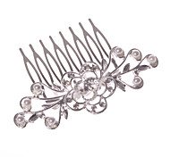 Недорогие -Женский Для девочек Сплав металлов Заставка-Свадьба Особые случаи На каждый день Для деловой одежды на открытом воздухе Гребни 1 шт.
