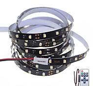 500cm 25W 300x3528SMD White / Cool White  Light LED Strip Lamp for Car + 11-Key RF Controller(DC 12V)