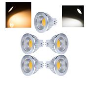 abordables -50-150 lm Focos LED MR16 1 leds COB Blanco Cálido Blanco Fresco AC 220-240V