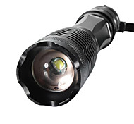 XML-T6 LED Flashlights / Torch Handheld Flashlights/Torch LED 2000/1600/1800 lm 5 Mode XM-L2 T6 Adjustable Focus Impact Resistant Nonslip