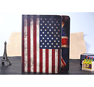 Недорогие -Кейс для Назначение iPad Air Folio Case Разные цвета Особый дизайн Флаги Кожа Кожа PU для