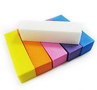 1шт буфера шлифовальный блок пилочка для ногтей набор искусства для ногтей акрилом (случайный цвет)