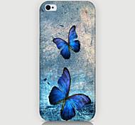 cover posteriore con due farfalle per cover iphone4 / 4s
