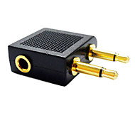 cheap -3.5mm Audio Splitter 1 Female to 2 Male 3.5mm Jack Splitter Converter Adapter