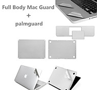 Top Quality Sliver Ultra Slim Full Body Guard and Palmguard with Package for Macbook Pro 13.3 inch