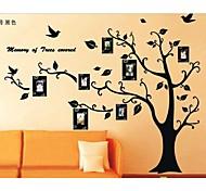 foto pegatinas de pared árbol marco zooyoo2141 niños sala de artes de la pared salón etiquetas de la pared