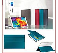 preiswerte -Geschäftsständer Tablette Abdeckungsfall für Samsung Galaxy Tab 10.5 s t800 T805 Bildschirm Film + Stylus mit