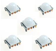 5шт HC-sr501 инфракрасный модуль индукции человеческого тела пироэлектрический инфракрасный датчик датчик для Arduino