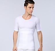 Новое поступление мужской сексуальный орган для похудения формирователь фитнес живота термобелье мужчин спортивные рубашки корсет