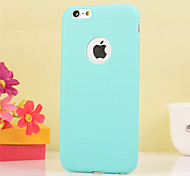For iPhone X iPhone 8 iPhone 6 Plus Case Cover Shockproof Back Cover Case Solid Color Soft TPU for Apple iPhone X iPhone 8 Plus iPhone 8