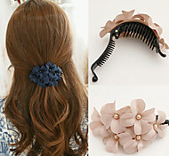 cheap -Women's Elegant Fabric / Alloy Hair Claw / Hair Claws / Hair Claws