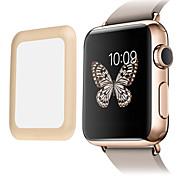 preiswerte -Link Traumprämie 0,2 mm Echt gehärtetem Glas mit voller Abdeckung Metallkante Display Schutz für Apple-Uhr (42 mm)