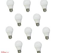 10pcs 3w e26 / e27 llevó bulbos del globo 350lm blanco cálido blanco frío decorativo ac220-240v