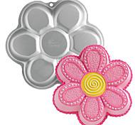 Недорогие -FOUR-C металл форма цветка алюминия торт выпечки кастрюлю форма, выпечки инструменты для тортов