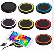cheap -QI Wireless Charge 5V 1A Wireless Charger Pad for Built-in Qi Receiver Smart PhoneSamsung S8 S8 PLUS S7 Edge S6 Edge Plus Note5 LG G2 G3 G4