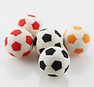 милый футбольный футбол собирает резиновый ластик (случайный цвет) для школы / офиса