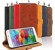 Special Design High-Grade Genuine Leather Mobile Phone Holster for Samsung Galaxy S5 I9600