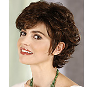 Women Synthetic Wig Short Curly Costume Wig
