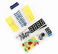 cheap -Universal DIY Components Kit Set for Arduino - Black + Blue + Multicolor