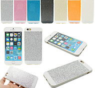 Soft Bling Glitter Silicone Rubber Fashion Back Case Cover for iPhone 5/5S+Phone Holder Gift