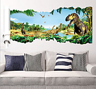 cheap -Animals Wall Stickers Plane Wall Stickers Decorative Wall Stickers, PVC Home Decoration Wall Decal Wall