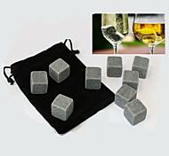9 шт / много виски камни рок кубики льда из мыльного камня напиток заморозки