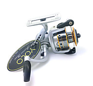 YOLO LI150A 4.8:1 3 Ball Bearings Ice Fishing Freshwater Fishing Carp Fishing Spinning Reels with Aluminum Spool