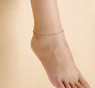 cheap -Anklet - Women's Screen Color Vintage Cute Party Work Casual Simple Style Alloy Anklet For Daily