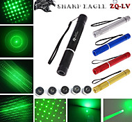 cheap -Flashlight Shaped Laser Pointer 532nm Aluminum Alloy