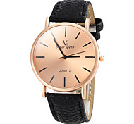 cheap -V6® Men's Watch Dress Watch Simple Style Bronze Round Dial Cool Watch Unique Watch Fashion Watch