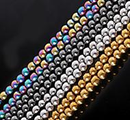 cheap -Beadia 1Str(Approx 77pcs) Natural Stone Beads 6mm Round Hematite Beads 4 Colors U-Pick