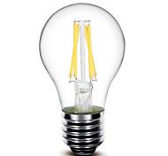 Недорогие -1 шт E26 / Е27 4 Вт 4 початка 400 лм теплый белый г Затемнения светодиодные лампы накаливания переменного тока 220-240 В / AC 110-130 v