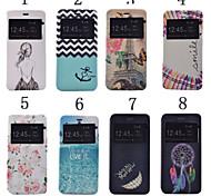iphone 7 плюс 5,5 дюйма печати образец высокого качества PU кожаный чехол с подставкой для iphone 6с плюс