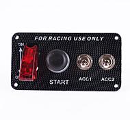 12v гоночный автомобиль двигатель старт кнопка панели переключателя зажигания к выключателю набор