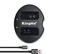 kingma® двойной слот USB зарядное устройство для Canon LP-E10 аккумулятор для Canon Rebel t3 t5 EOS 1100D 1200D поцелуй x50 камеры