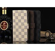 флип кейс поддержка решетки бумажник просто пу Mobile Shell телефон iPhone 6 / 6с плюс 5,5 различных цветов