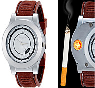 cheap -Huayue Watch Design Creative Usb Electronic Cigarette Lighter With Date Fuction Wrist Watch Cool Watch Unique Watch