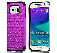 Silicone 3 in 1 Case Fashion Combo Hybrid All Over The Sky Star Back Cover Case For Samsung Galaxy S6 Edge/S6/S5/S4