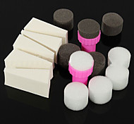 Недорогие -15pcs день маникюр губки ногтей инструменты для градиента цвета ногтей