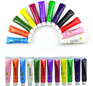 cheap -1 SET 12 Colors Painting Acrylic 3D Nail Art Paint Tube Draw Newest Brand New Nail Art Tip UV Gel
